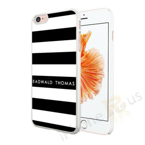 Personalised Stripe Phone Case Cover For Apple Samsung Huawei 014-4