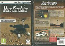 JEU PC - MARS SIMULATOR ( NEUF EMBALLE ) / EN FRANCAIS DECOUVREZ LA PLANETE MARS