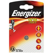 """1 x Energizer CR1216 1216 3V Lithium Coin Battery """"Brand New"""""""