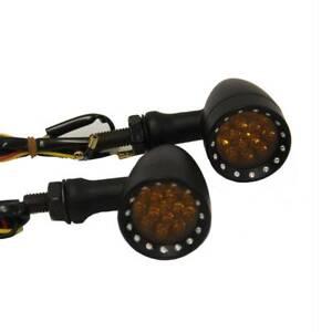 Amber Front Rear LED Turn Signal Light For Harley Davidson XL Sportster 1200 883
