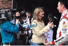 Louise Goodman SIGNED Portrait  BTCC  ITV Pit Lane Reporter