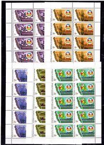 10x Burundi - Anniversary  C.E.P.G.L. Scott 400$  stamps MNH** F105  - Wholesale