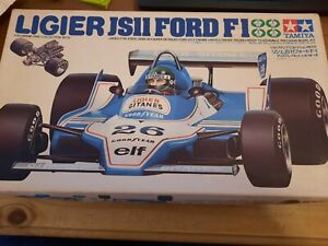 Tamiya Ligier 1/20, boxed, in the UK. ##unused ## see pics