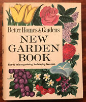 Better Homes and Gardens New Garden Book Vintage 1961 Revised Edition