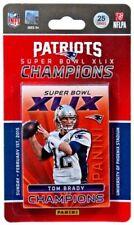 2014 2015 Panini NEW ENGLAND PATRIOTS Super Bowl XLIX 25-Card Set FACTORY SEALED