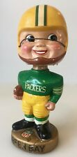 Vintage 1960's Green Bay Packers Football Player Bobblehead Official NFL