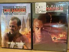 Die Hard 3: Die Hard With a Vengeance (DVD, 2005) & Die Hard 2 Die harder New