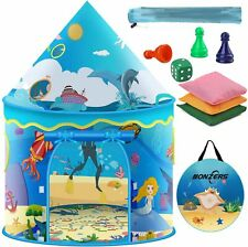 Kids Play Tent, Pop Up Tent for Kids, Foldable Sea World Playhouse Tents