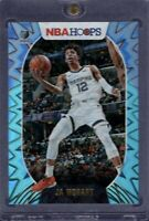 2021 NBA Hoops Ja Morant 2nd Year Card Teal Explosion Holo Memphis Grizzlies ROY