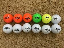 1 Dozen Wilson Chaos Multi-Colored Golf Balls