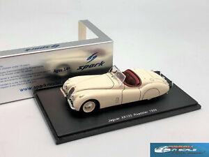 RARE! Jaguar XK 120 Roadster 1950 Spark S2110 resin 1:43