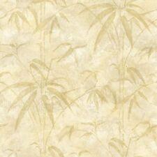 Kathy Ireland Beige Bamboo on Beige on Easy Walls Wallpaper NL58092