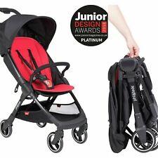Phil & Teds Go Stroller Red BLACK pushchair unisex lightweight 5 kg travel light
