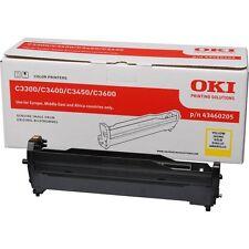 >> Oki imagen tambor para impresoras c3300/c3400 15.000 páginas, amarillo tóner 43460205 >