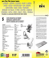 5 Sacchi Buste Rowenta compatibile con tutti I modelli indicati nella Foto