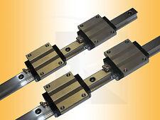 Linearführung - Kugelumlaufführung - 2 x ARC15-FN-S-2-V0-N-500 - Linear Guide