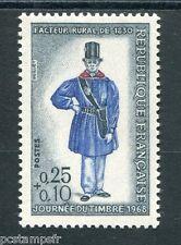 FRANCE - 1968, timbre 1549, JOURNEE du TIMBRE, Métiers, FACTEUR, neuf**