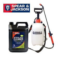 S&J Probiotic Artificial Grass Cleaner 5L Ready to Use with 5 L Sprayer