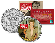 JAMES DEAN *HOLLYWOOD ICON* JFK Kennedy Half Dollar US Coin OFFICIALLY LICENSED