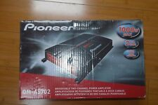 *Pioneer Gm-A5702 Bridgeable 1000 Watts 2-Channel Power Car Amplifier