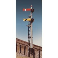 HO/OO gauge GWR Home & Distant signal (2 arms, 1 post) - Ratio 462 - free post