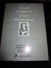 Catalogue raisonné de l'oeuvre de DALI Sculpteur et DALI illusttrateur