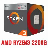 AMD Ryzen 3 2200G - 3.5 GHz 4 core 4 threads Socket AM4 Expedited shipping