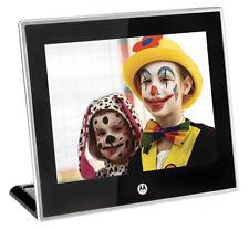 "Motorola 8"" MF800 Digital Photo Frame With Remote Control & Storage (Ref 080)"