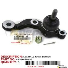 01-05 LEXUS IS300 FACTORY OEM 43330-59135 FRONT PASSENGER SIDE LOWER BALL JOINT
