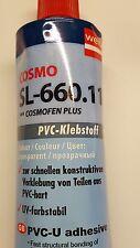 Kunststoff-Kleber, COSMO SL-660.110, transparent, PVC-Klebstoff,  Plastik-Kleber