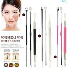 Blackhead Facial Acne Spot Pimple Remover Extractor Tool Comedone Face Stainless