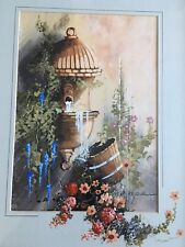 Original Oil Painting By John Horsewell Oil On Board Mounted & Framed Unusual