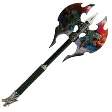 "21"" Fantasy Double-Sided Medieval Battle Axe"