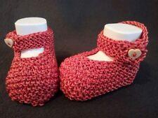 Baby-Schuhe mit Strick/Gehäkeltem für Jungen in Größe EUR 17