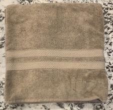 NEW Pottery Barn Classic Organic BATH Towel TRUFFLE
