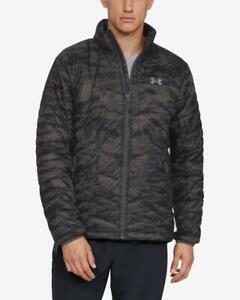 NEW Under Armour ColdGear Reactor Jacket Mens XL Black/Charcoal Camo 1316010-020