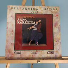 Performing Images Anna Karenina Ballet Laserdisc Extended Play Alexander Godunov