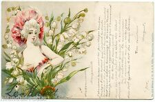 JACK ABEILLé. SéRIE SUR LES FLEURS. LE MUGUET. SERIES ON FLOWERS. THE THRUSH.