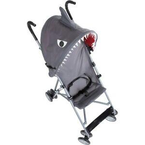Cosco Character Umbrella Stroller With Canopy - Shark **NIB**