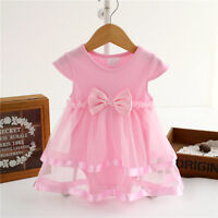 Infant Newborn Baby Girls Princess Tulle Bodysuit Romper Dress Clothes 3 6 9 12M