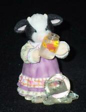 Mary Moo Moos Enesco 2003 Friends Pick You Up When You're Down Figurine # NEW