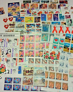 Unused & new 100 Assorted Mixed, Multiples & Singles of 29¢ US PS Postage Stamps