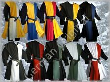 Medival Costume Surcoat and Shirt 2 Colors Middle Ages SCA Larp Reenactment