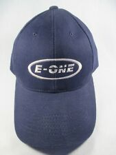 E One Blue Adjustable Baseball Cap Hat Great Condition
