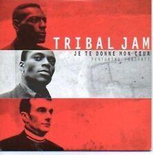 (803F) Tribal Jam, Je te Donne mon Coeur - 1996 CD