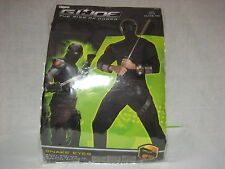 Snake Eyes Deluxe Muscle Adult XL (42-46) Costume GI Joe Very Rare NEW NIB NIP