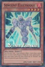 Yu-Gi-Oh ! Carte Sergent Electrique  WGRT-FR043 - Super Rare