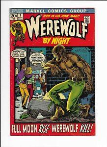 Werewolf By Night #1 1st Series 1972 Solid Copy FN/VF