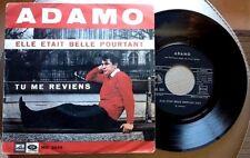 """ADAMO / ELLE ETAIT BELLE POURTANT - 7"""" (printed in Italy 1966) RARE !!!"""