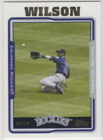 2005 Topps Baseball Colorado Rockies Team Set with Update (23 cards)